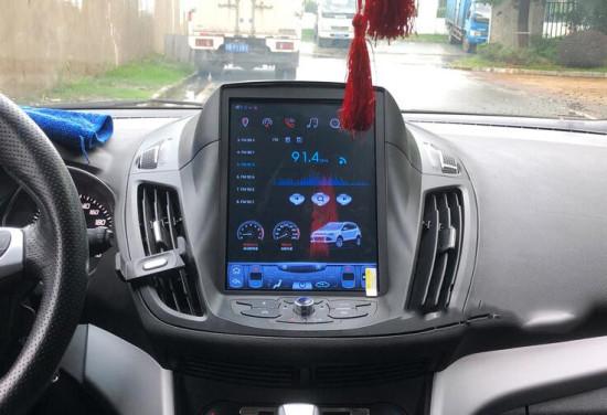 9 7 Tesla Style Android Car Multimedia Stereo Radio Audio Dvd Gps Navigation Sat Nav Head Unit Ford Kuga 2013 2014 2015 2016 2017 2018 Ford Kuga Tesla Gps Navigation