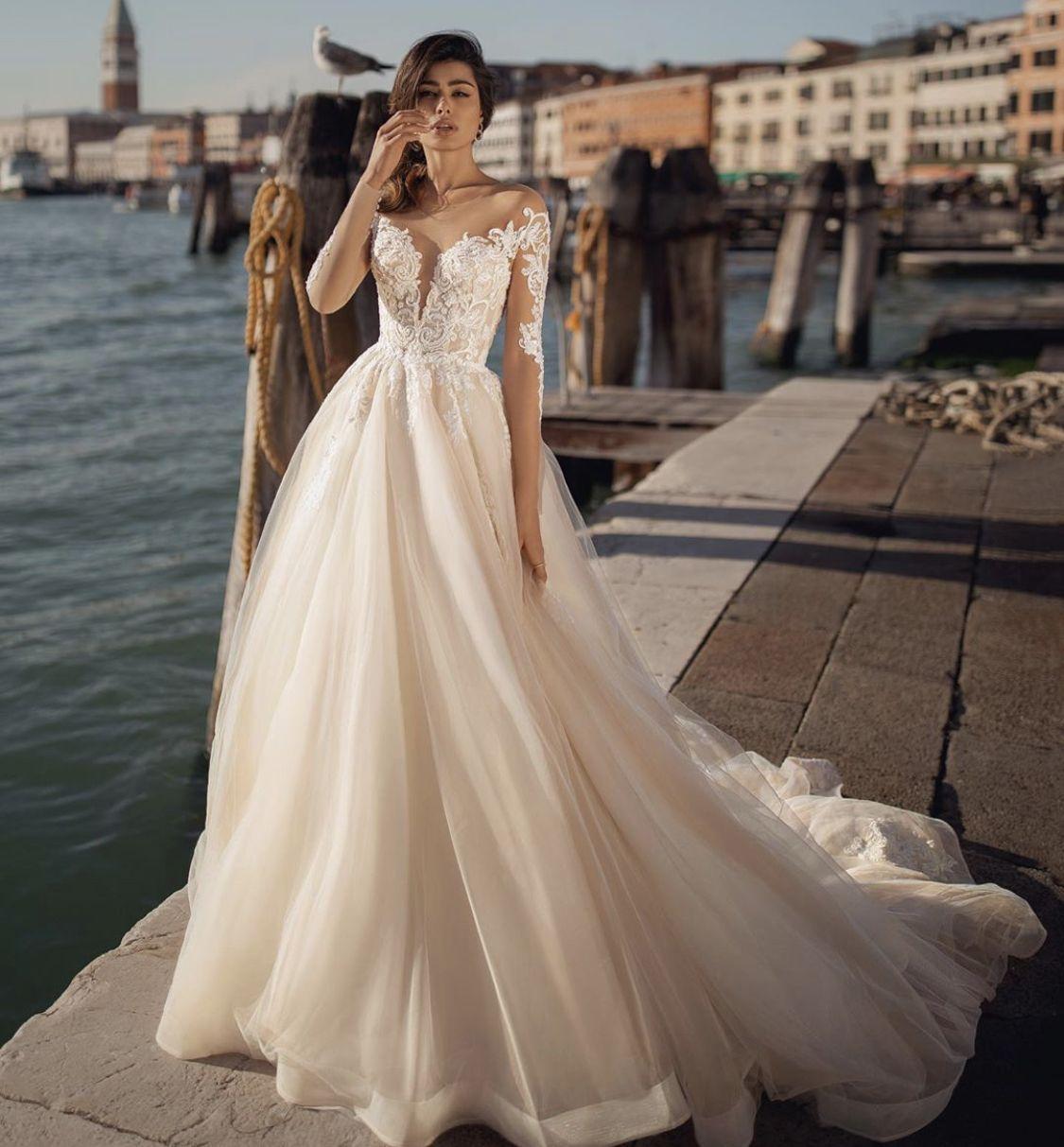 Viero Bridal In 2020 Wedding Dresses Wedding Dress Couture A Line Wedding Dress