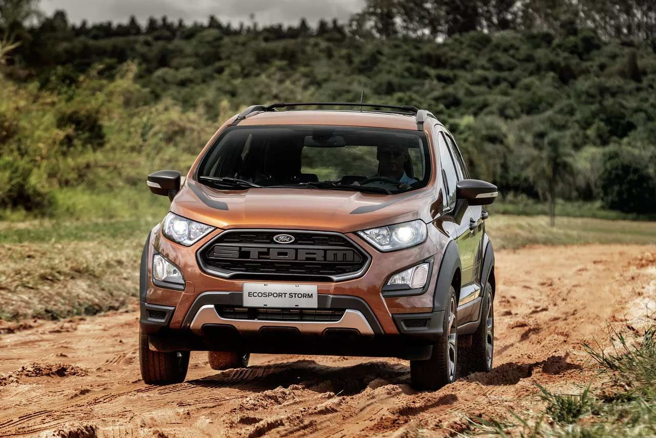 2018 Ford Ecosport Storm Edition Introduced In Brazil