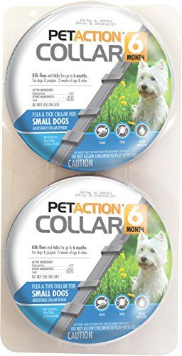 Pet Action Six Month Collar For Dogs Provides Season Long Control