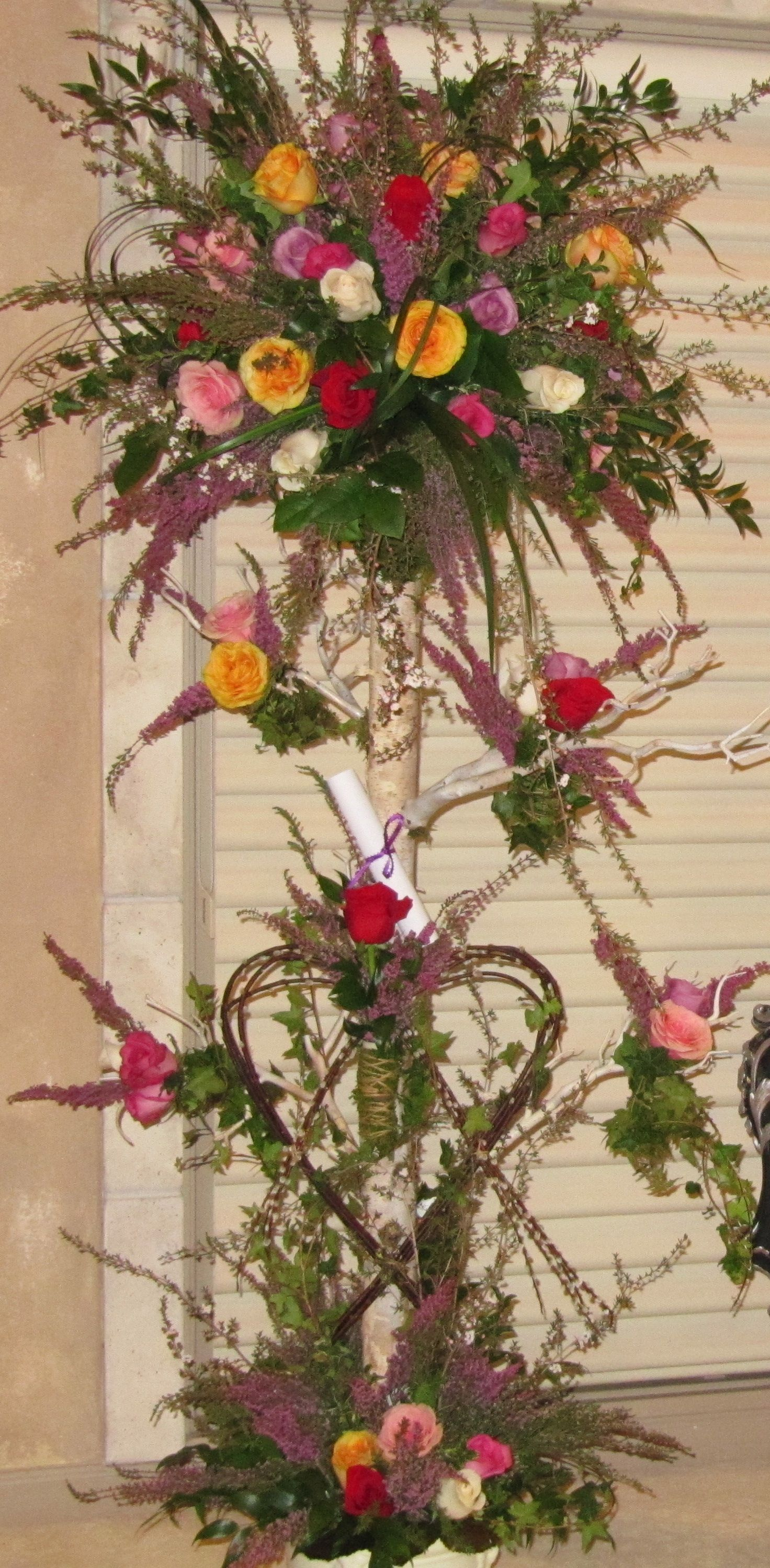 Rose topiary a wedding event flowers pinterest
