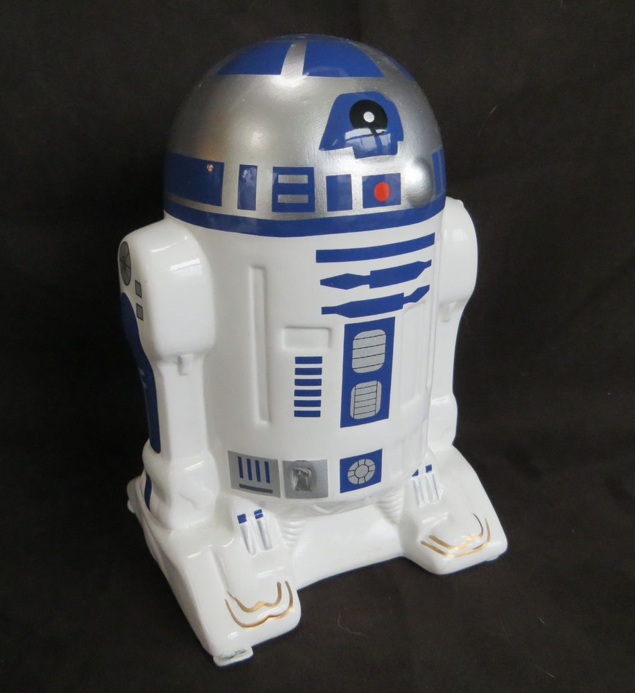 Star Wars R2d2 Ceramic Bank Coin Money Savings Piggy New Collectible Star Wars R2d2 Star Wars Items Stars