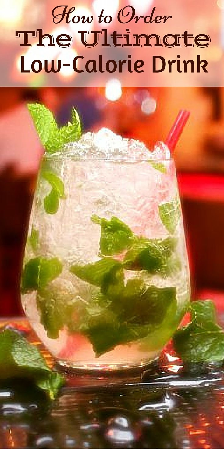 5 Tips to Order Low Calorie Drinks at Bars | Low calorie ...