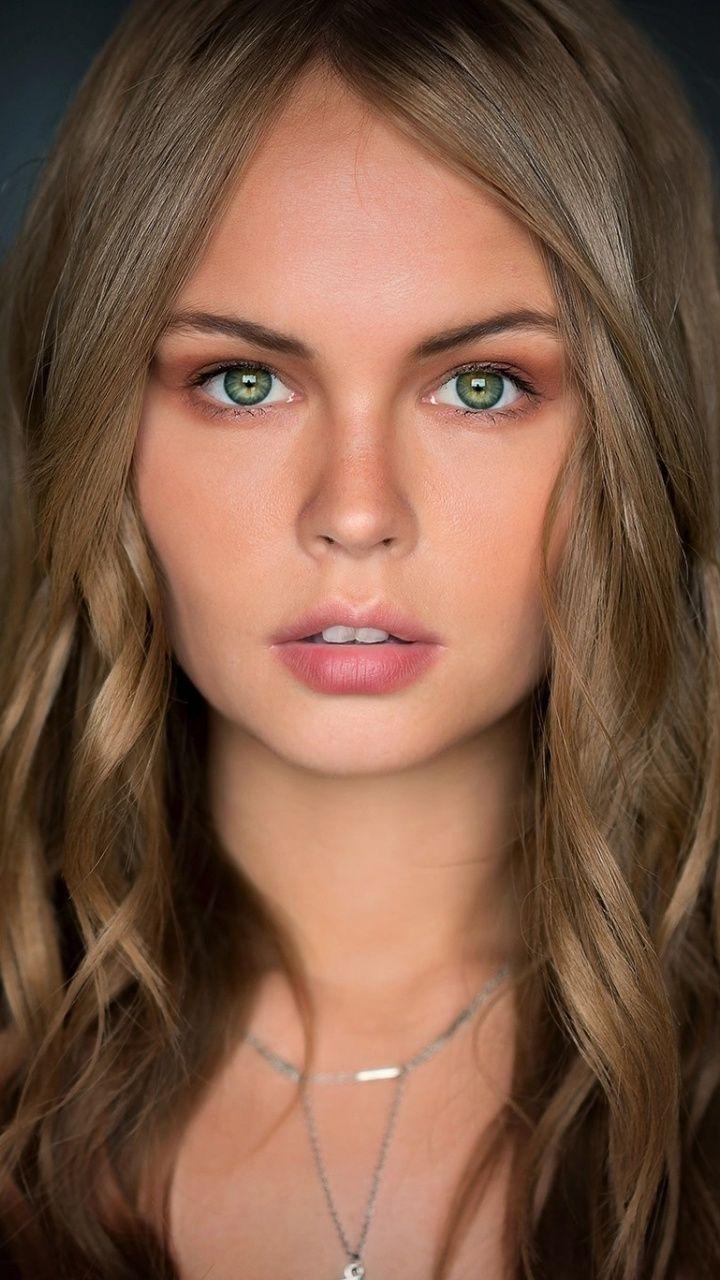 Gorgeous Model Anastasia Green Eyes 720x1280 Wallpaper Blonde Green Eyes Green Eyes Blonde Hair Blonde Hair Green Eyes