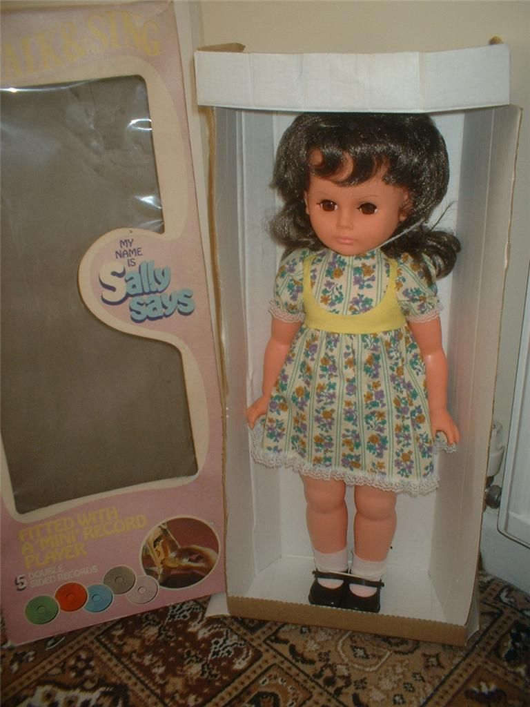 PALITOY Alice in wonderland doll in original box EX condition 75+7 BIN
