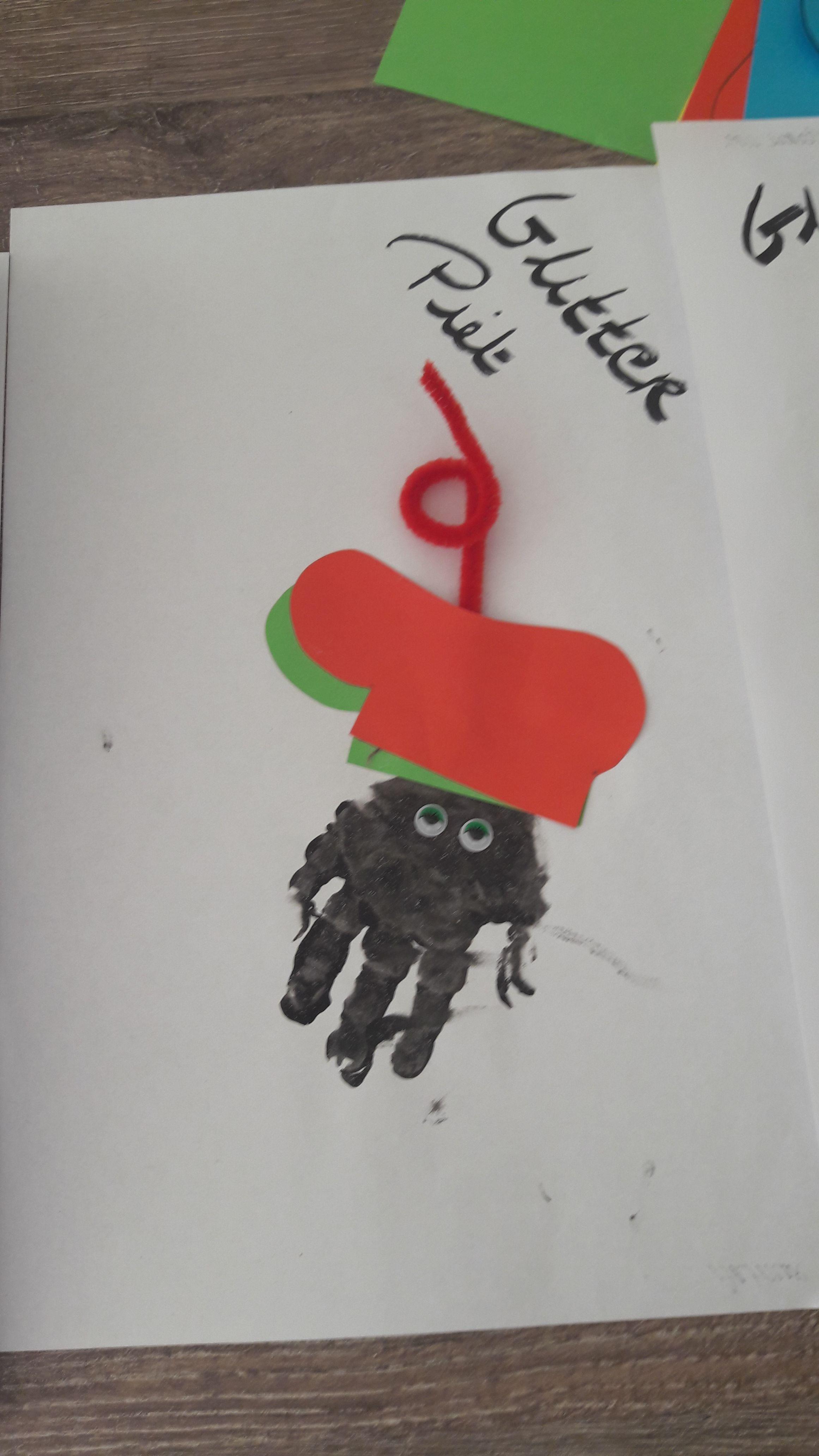 Zwarte piet, Peuters