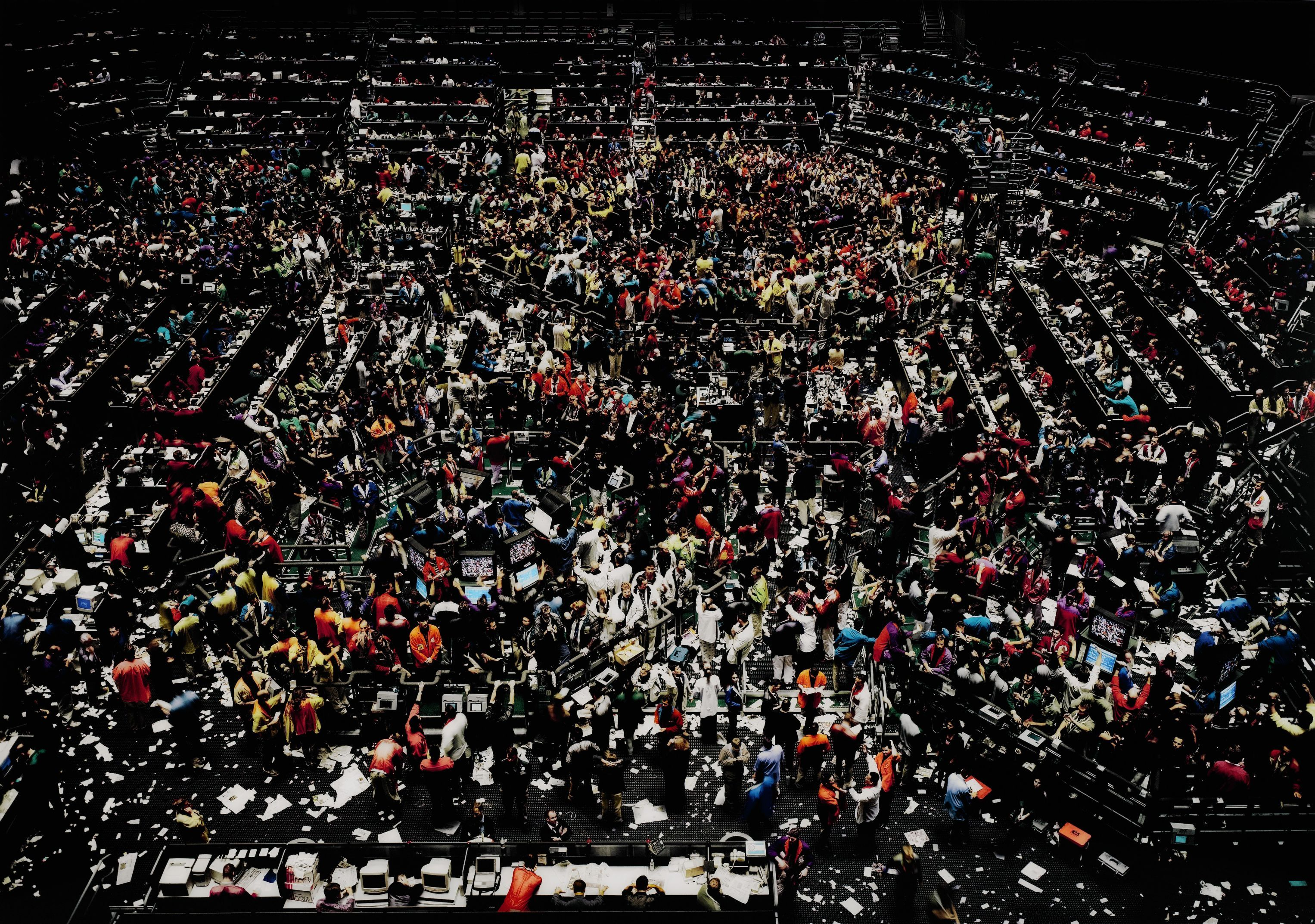 Andreas Gursky Chicago Board Of Trade Iii Chi