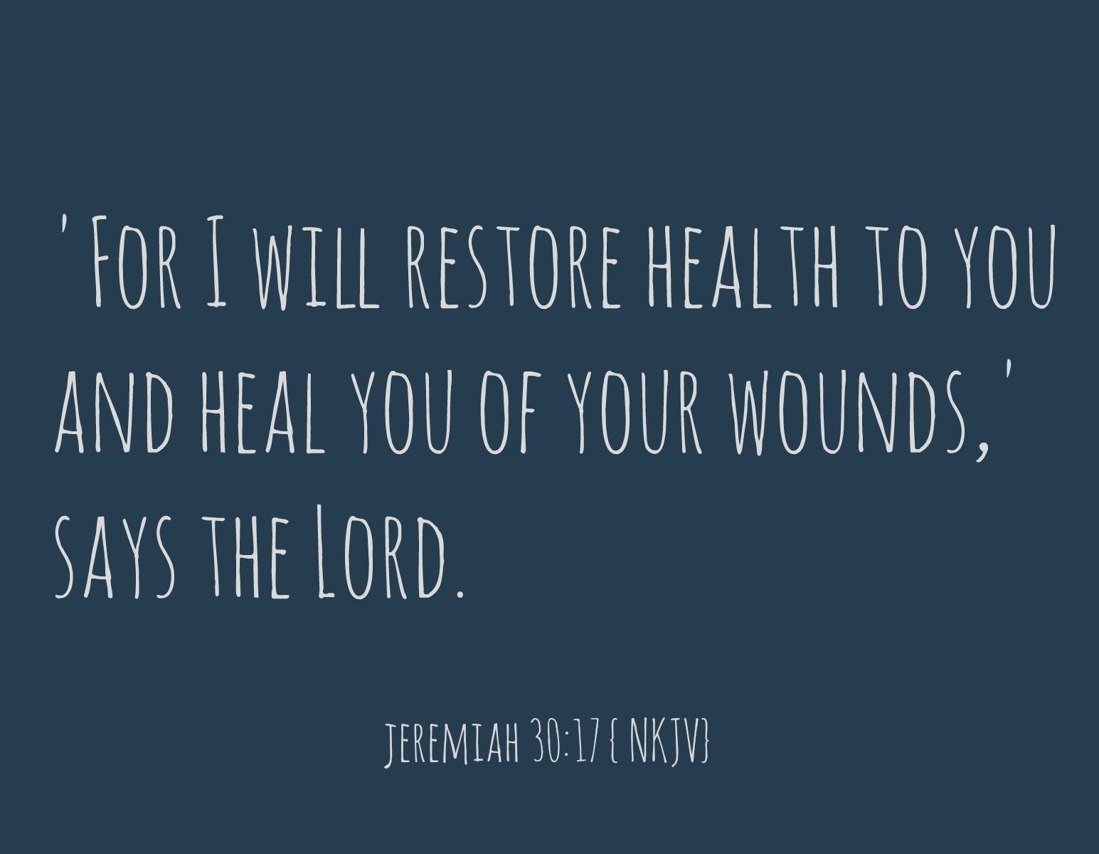 The Fontenot Four: Praying For Healing: Into The Word Wednesdays: V 25 {
