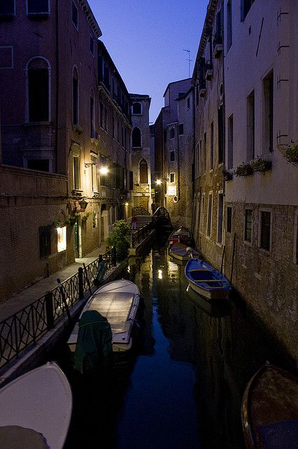 Quiet at night, Venice