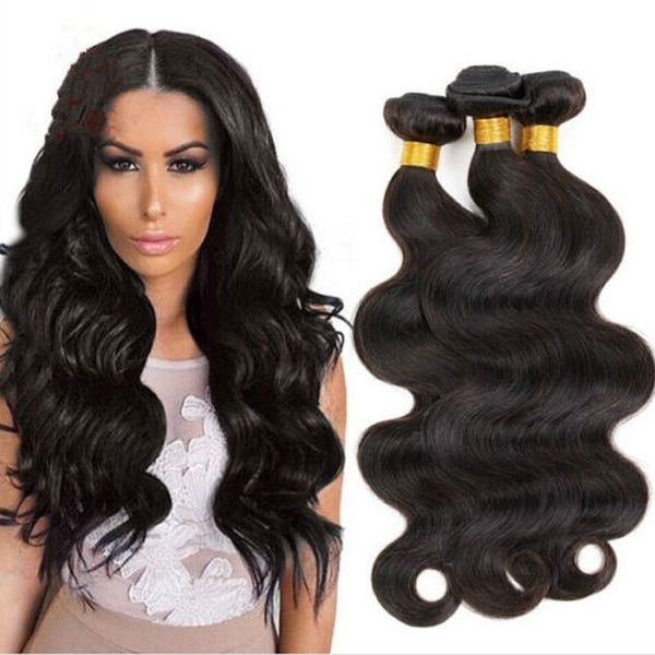 4 bundles 8″+8″+10″+10″ Brazilian Virgin Body Wave 100% Remy Virgin Human Hair Weave Extensions 200g