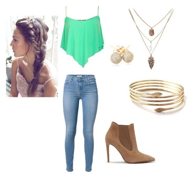 Ana's outfit by evalin-g on Polyvore featuring polyvore, fashion, style, 7 For All Mankind, Ralph Lauren and Loushelou