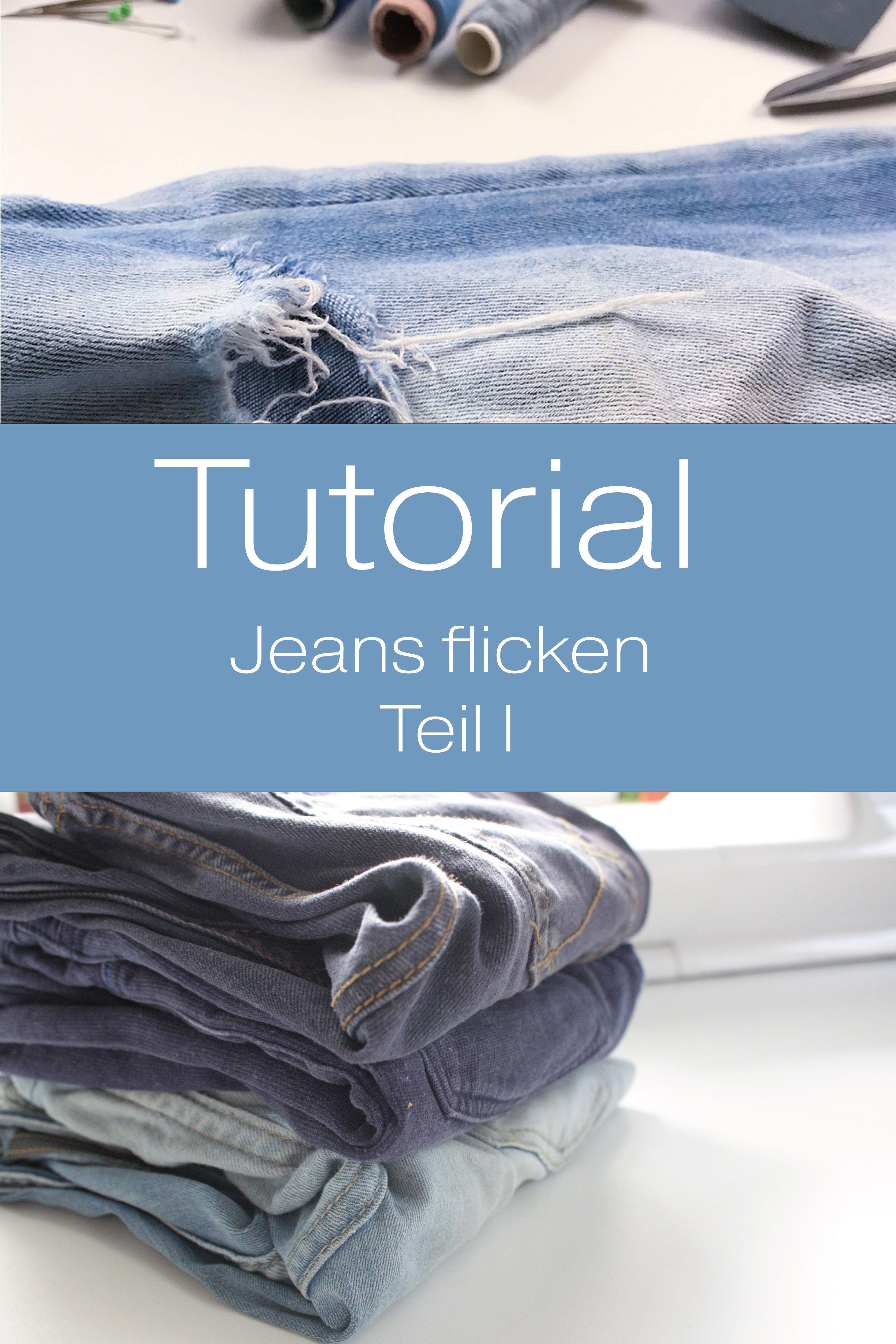 Tutorial   Jeans flicken I