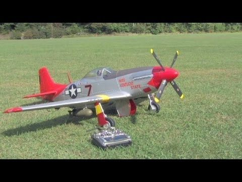 Radio Controlled (RC) Model Airplane - Mark Carros: P51