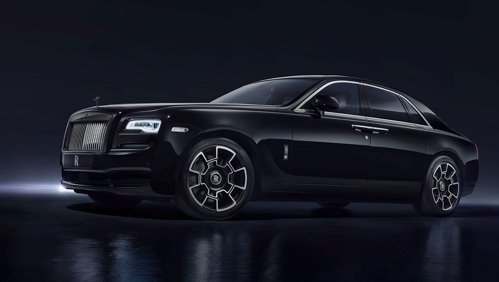 Black Badge' by Rolls-Royce | Rolls royce ghost black ...