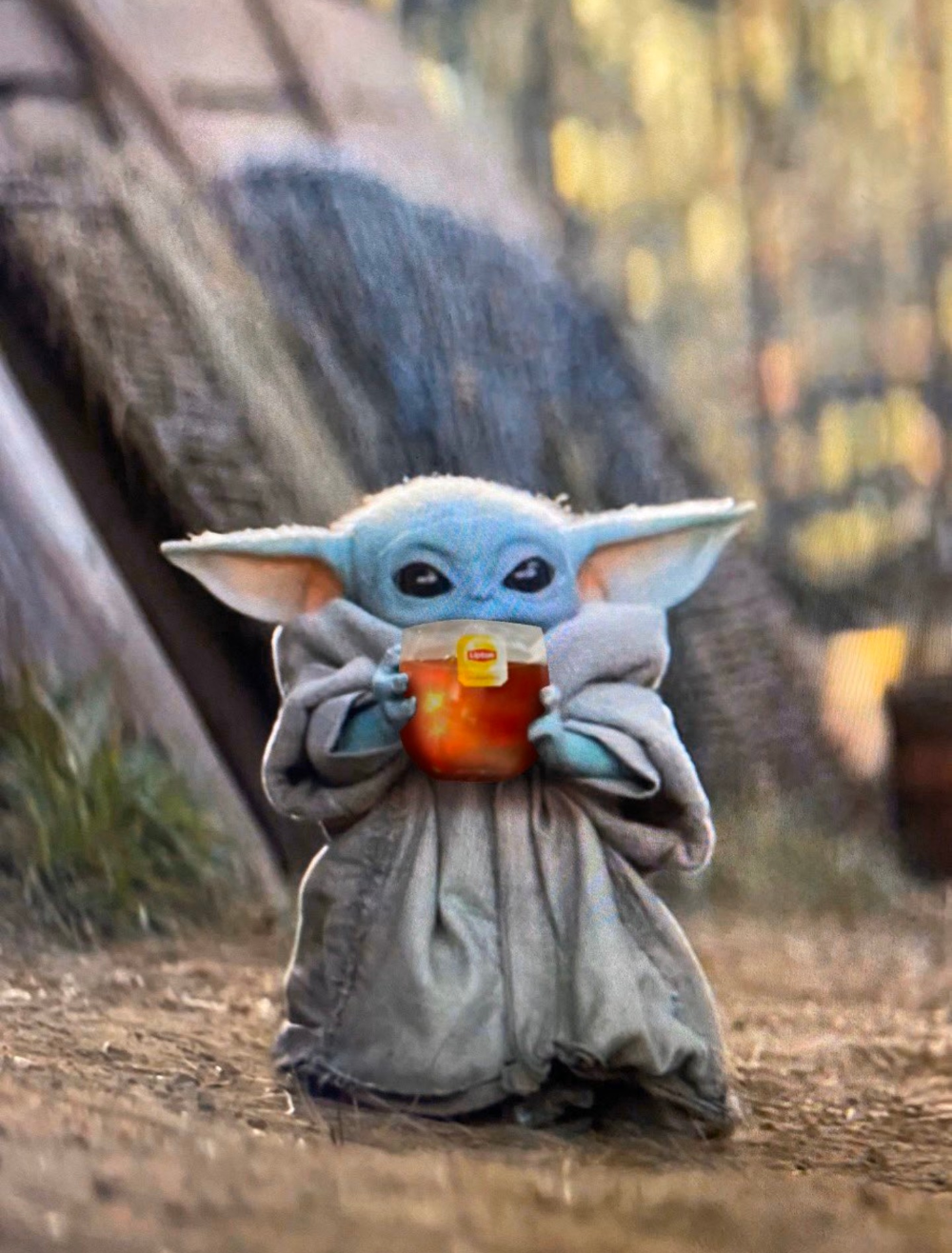 Baby Yoda Tea Blank Template Imgflip Yoda Wallpaper Yoda Images Star Wars Baby