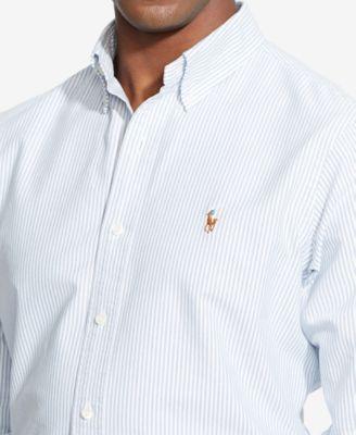 Polo Ralph Lauren Men's Long Sleeve Multi Striped Oxford Shirt