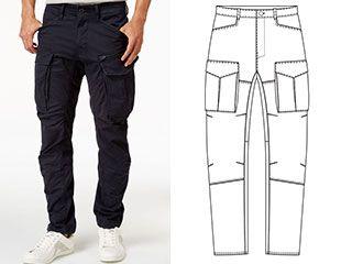 разница кроя мужских и женских брюк – Google Поиск в 2020 ...
