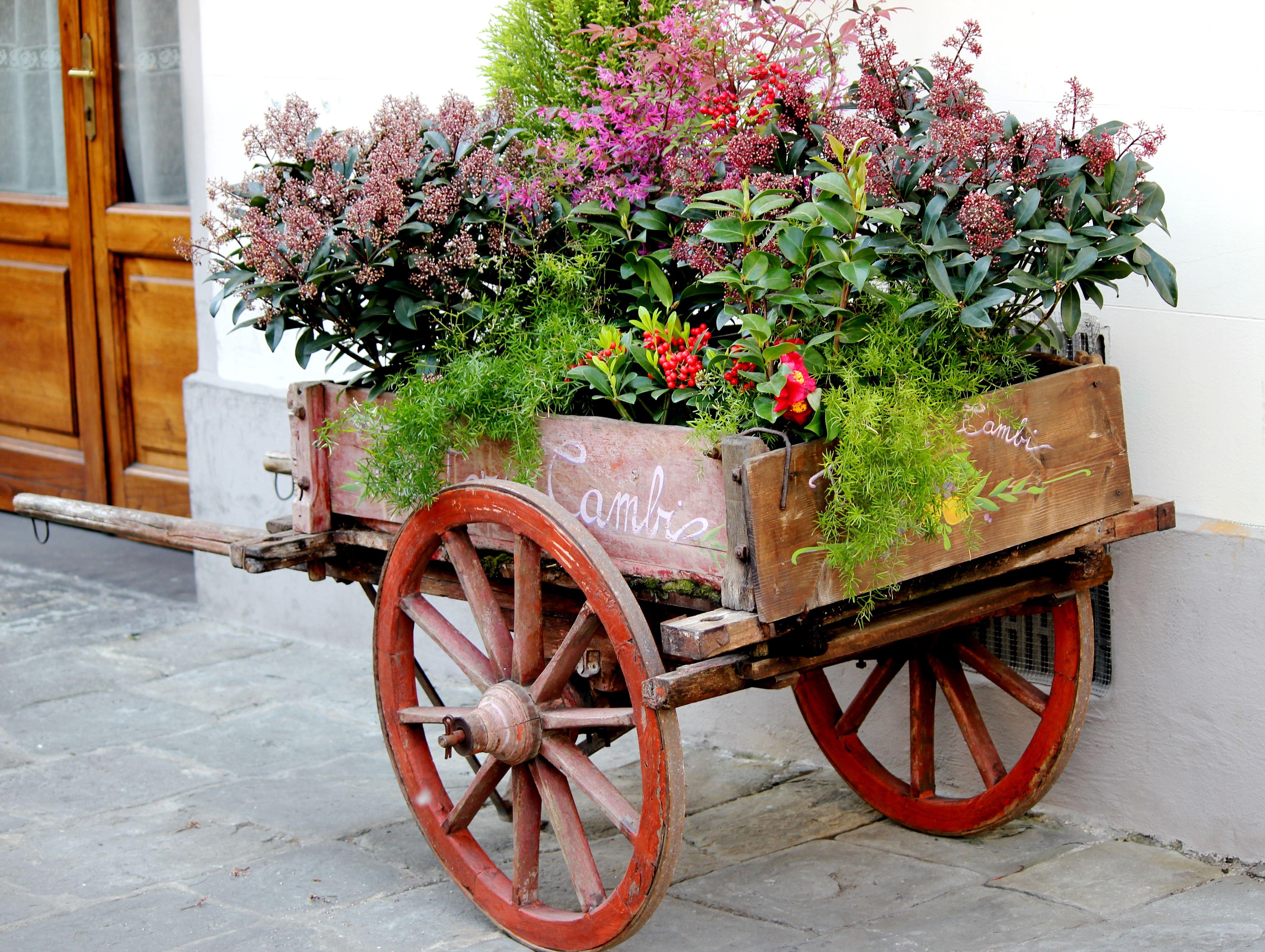 Florence Flower Cart