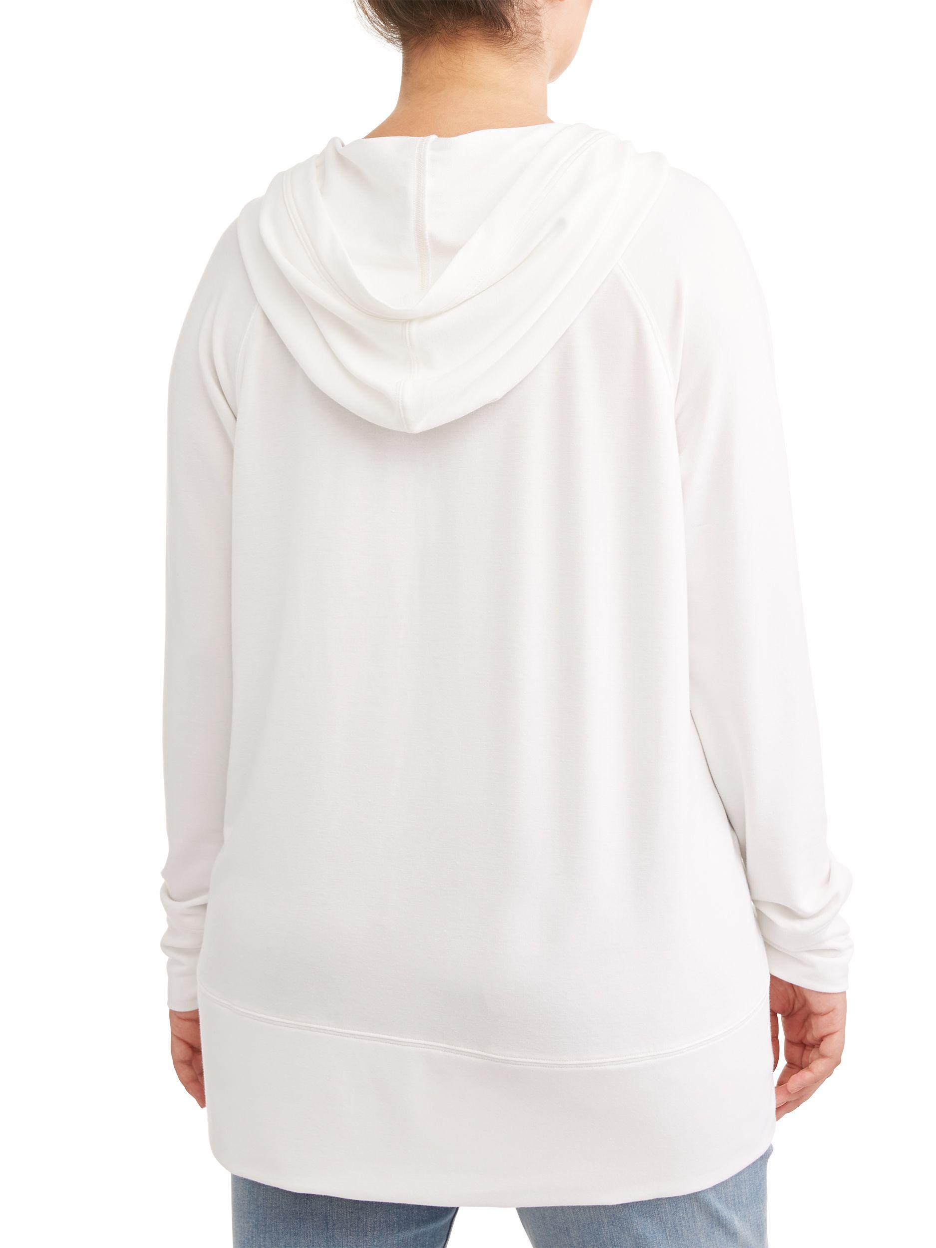 0ae1e8fa034 Avia Women's Plus Size Hooded Tunic Sweatshirt#Size, #Women, #Avia ...