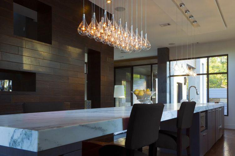 Illuminazione cucina proposta originale particolare interior
