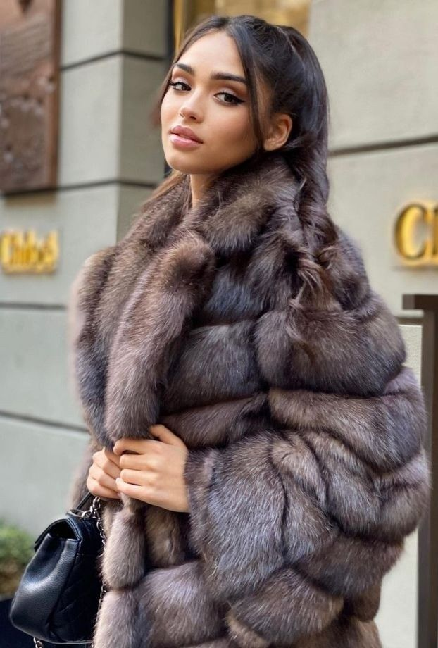 Pin by Chris Bade on Anziehsachen in 2021 | Sable fur coat