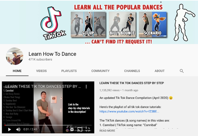 5 Easy And Engaging Ways To Learn How To Dance Online For Free Dance Online Online Dance Classes Music Lessons