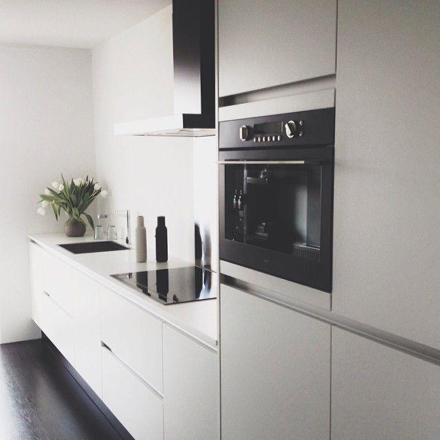 kitchen House Pinterest Cocinas, Cocina moderna y Diseño de - Cocinas Integrales Blancas