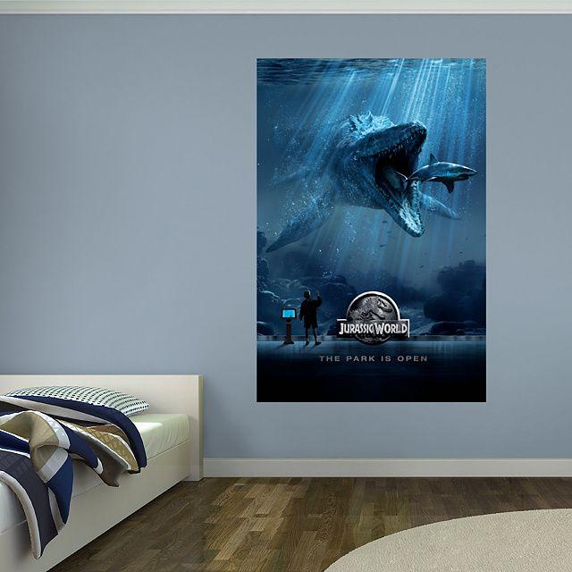 Jurassic World Aquarium Mural Fathead
