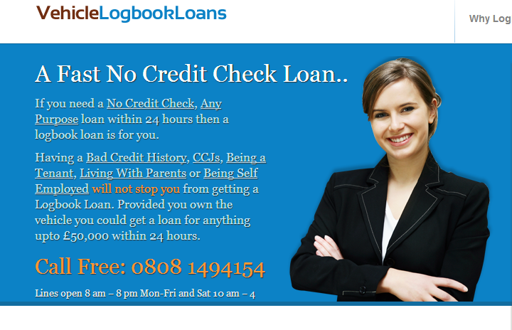 Http Www Vehiclelogbookloans Co Uk Logbook Credit If You Ve Been Refused Credit From Regular Lenders Then Log No Credit Check Loans Get A Loan Bad Credit