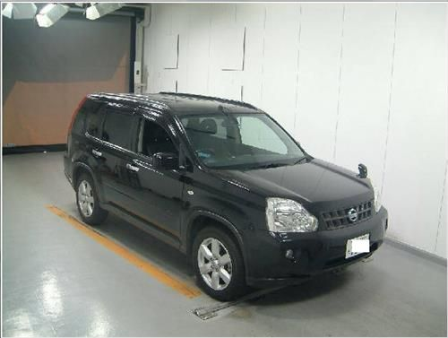 Black Things nissan x trail black color
