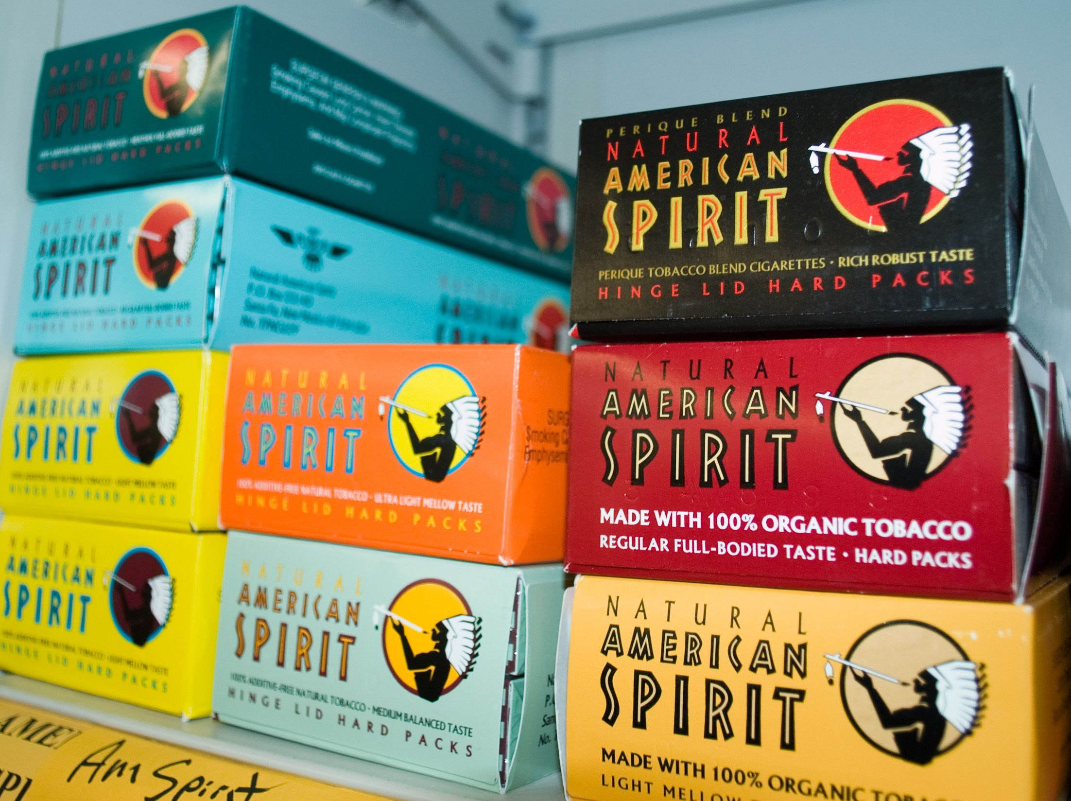 American Spirits Cigarettes Brand System Explore