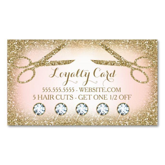 311 Hair Salon Loyalty Card Zazzle Com Salon Business Cards Beauty Business Cards Salon Promotions