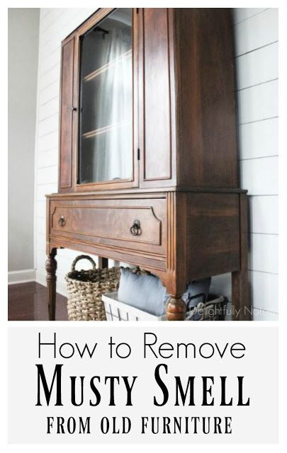 How to Remove Musty Smell from Old Furniture | Limpieza