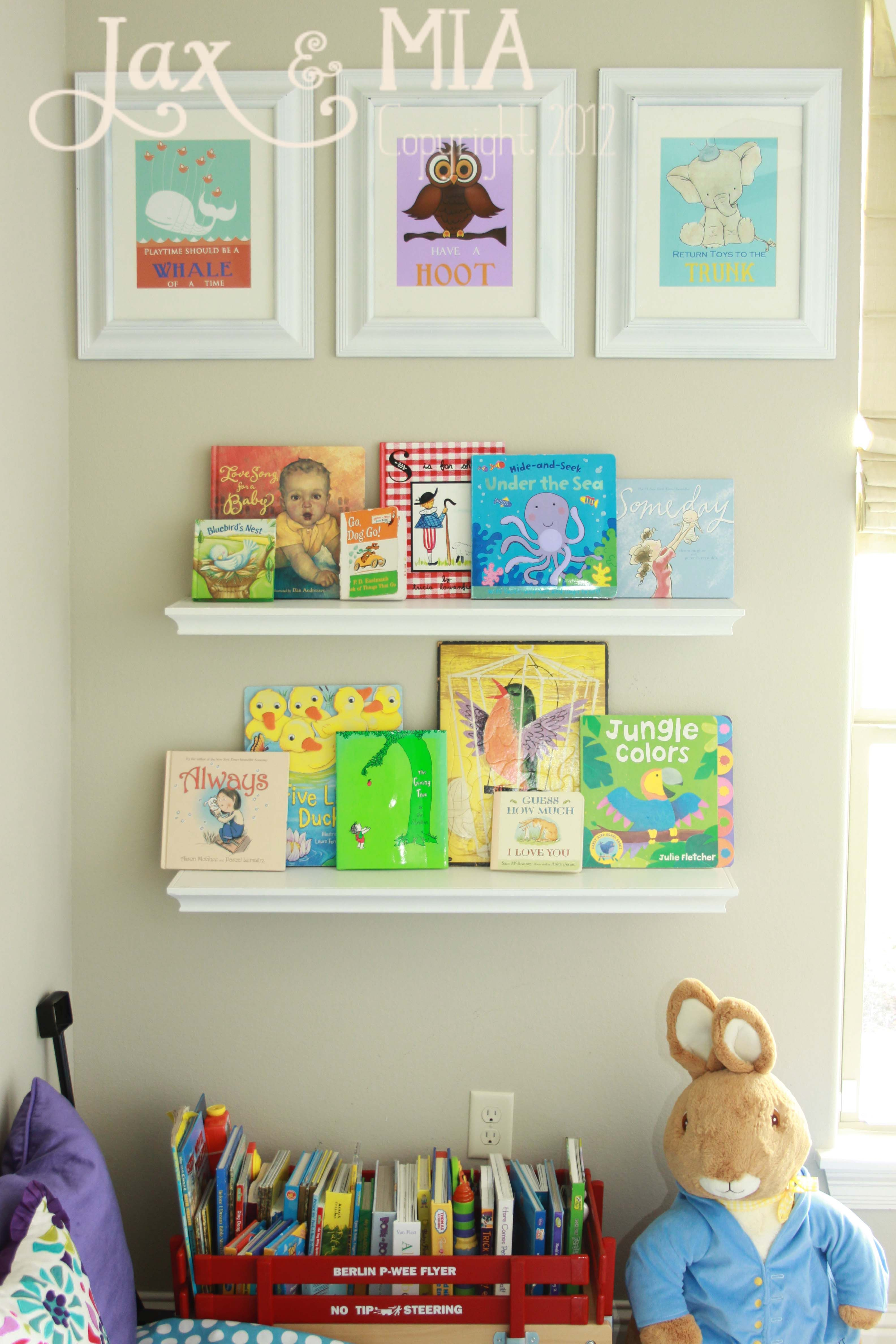 children's playroom very cute. playroom idea: reading corner and