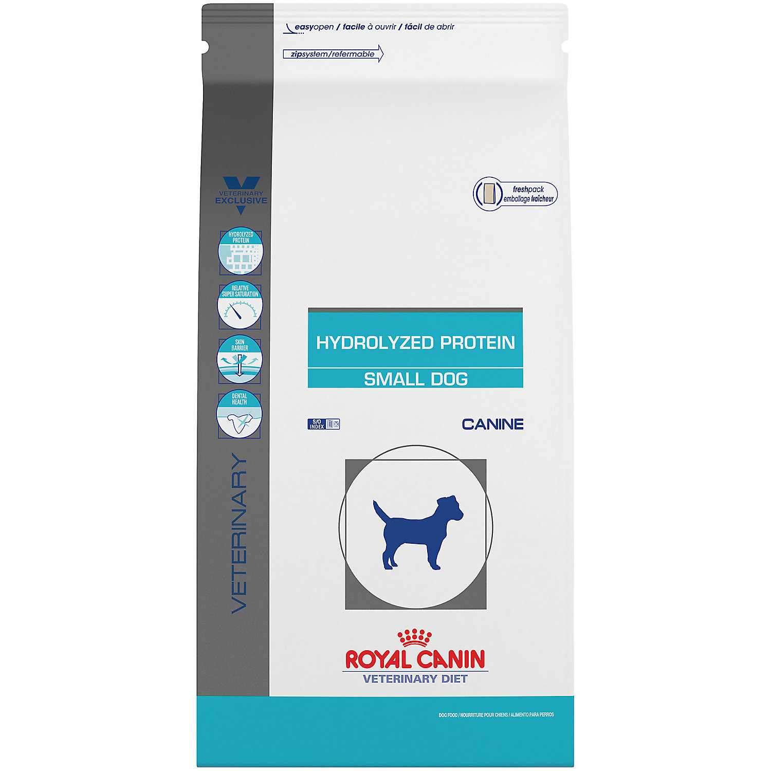 Royal Canin Veterinary Diet Canine Hydrolyzed Protein Small Dog Dry Dog Food 8 8 Lbs Petco Dry Dog Food Dog Food Recipes Royal Canin