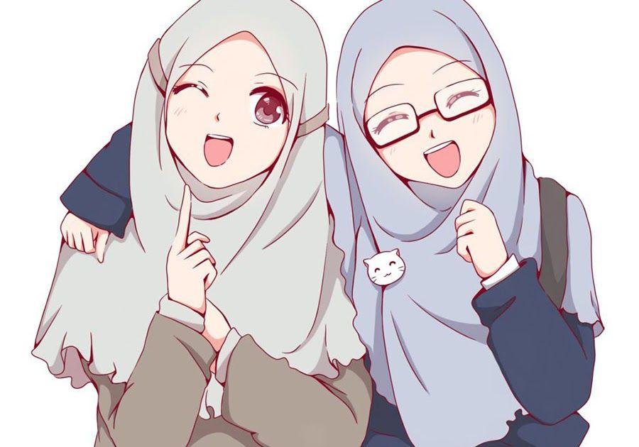 23 Gambar Kartun Laki Laki Dan Perempuan Muslim Di 2020 Kartun Gambar Animasi