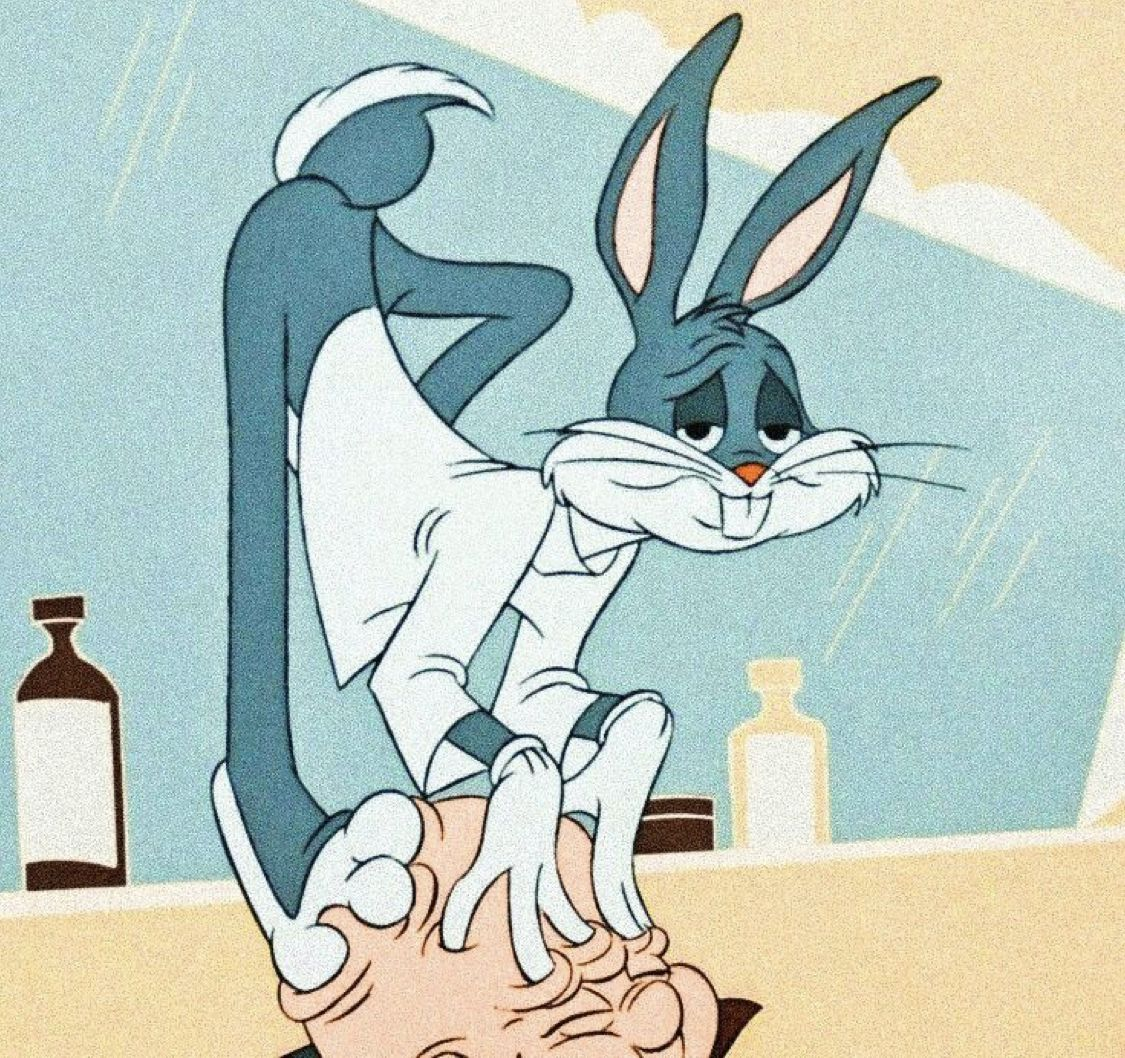 Vintage Cartoon Characters Aesthetic