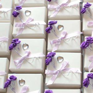 Scottish Wedding Favor Bo Promise Favours In Lilac Purple