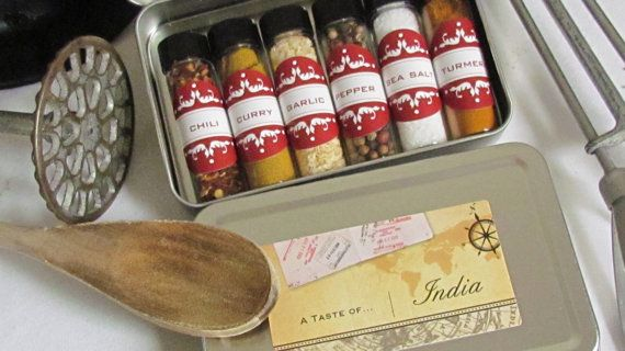 India Spices Of The World Gift Set Perfect For Travel Diy