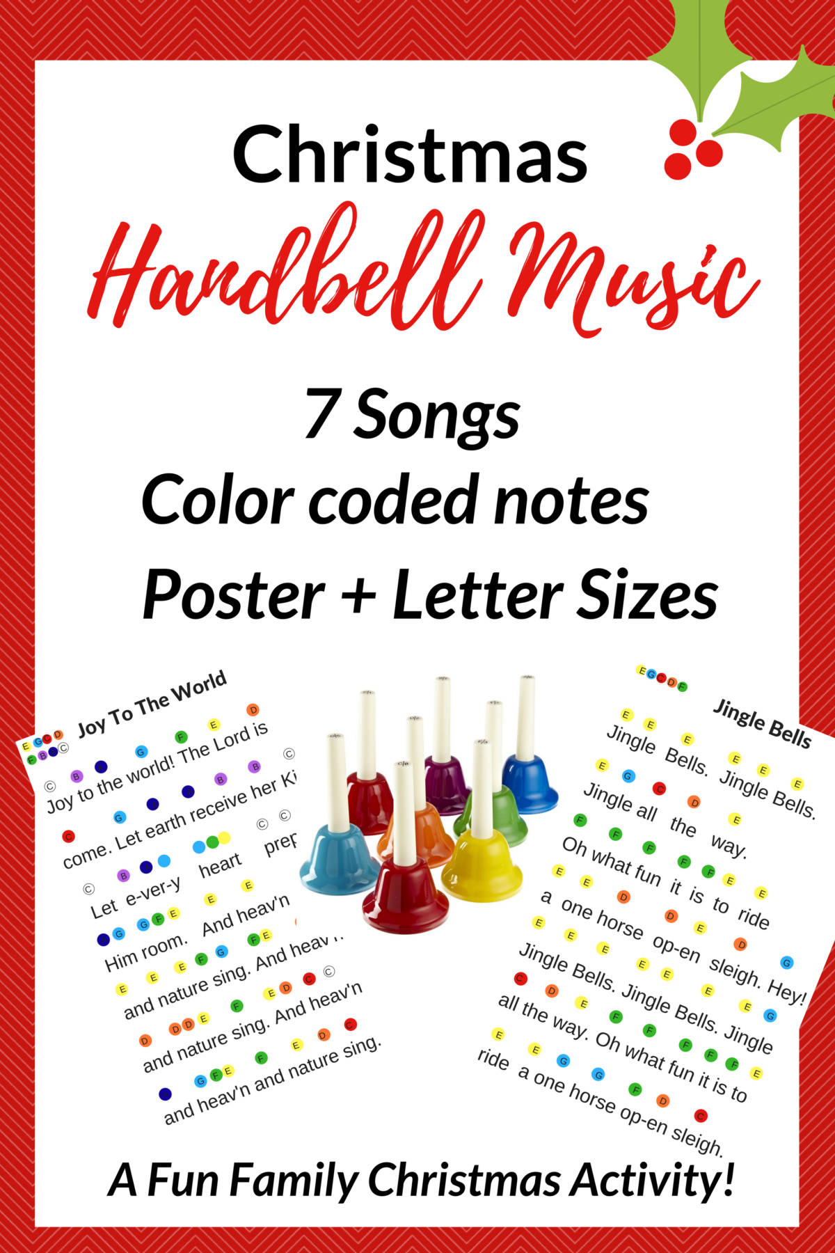 Christmas Hand Bell Songs- A Family Holiday Tradition ...