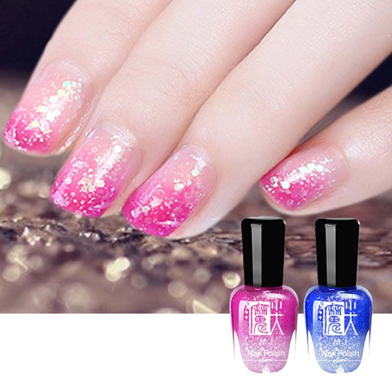 Hot Sale 3d Nails Art Long Lasting Shining Glitter Nail Gel Polish