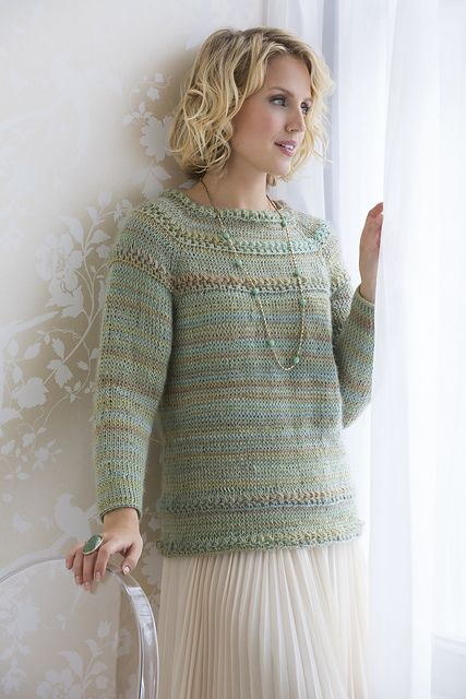 Tunisian Star Stitch Pullover Pattern By Dora Ohrenstein Star
