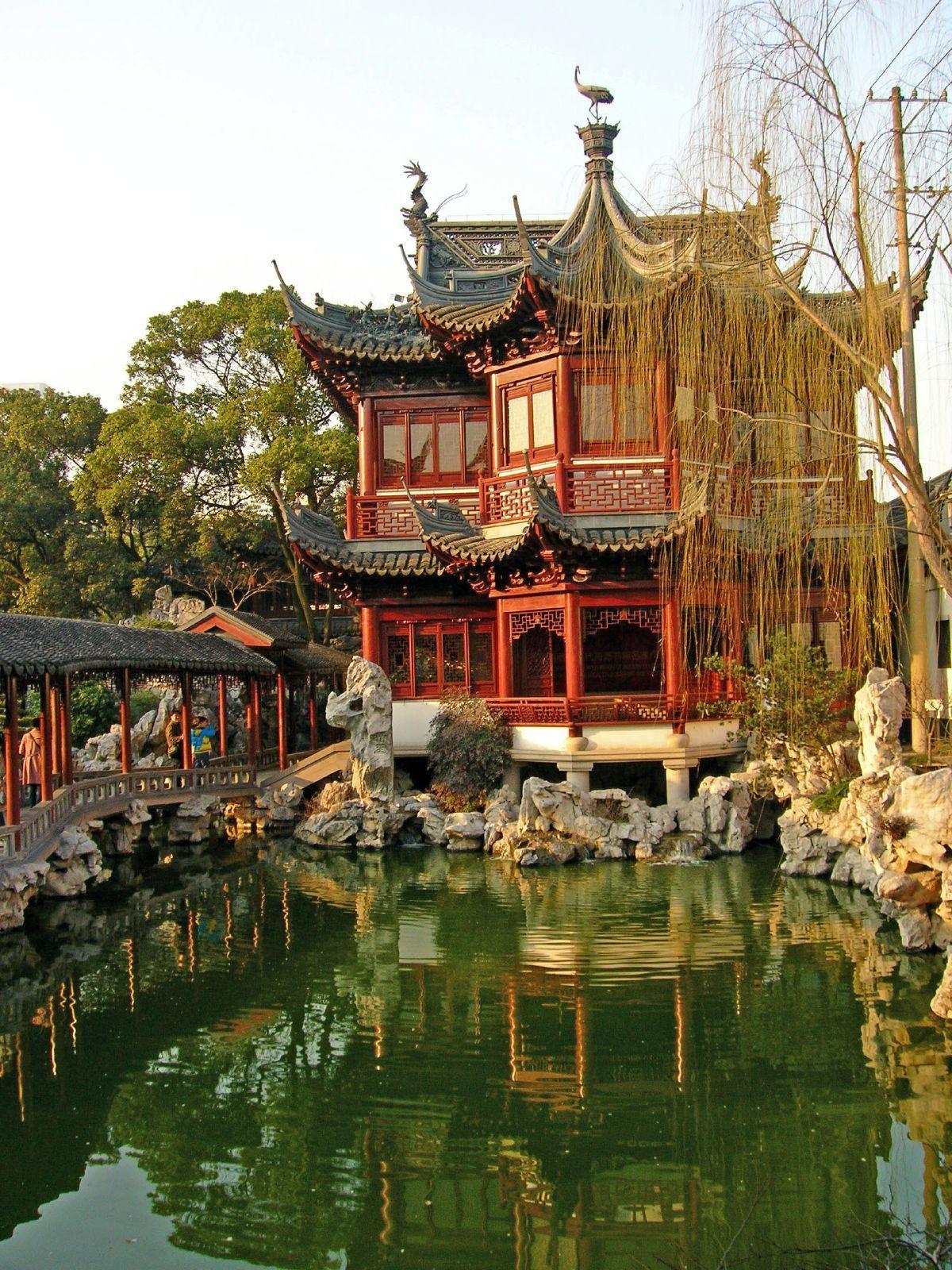 YU GARDEN (OR YUYUAN GARDEN): DIANCHUN HALL • Shanghai, China ...