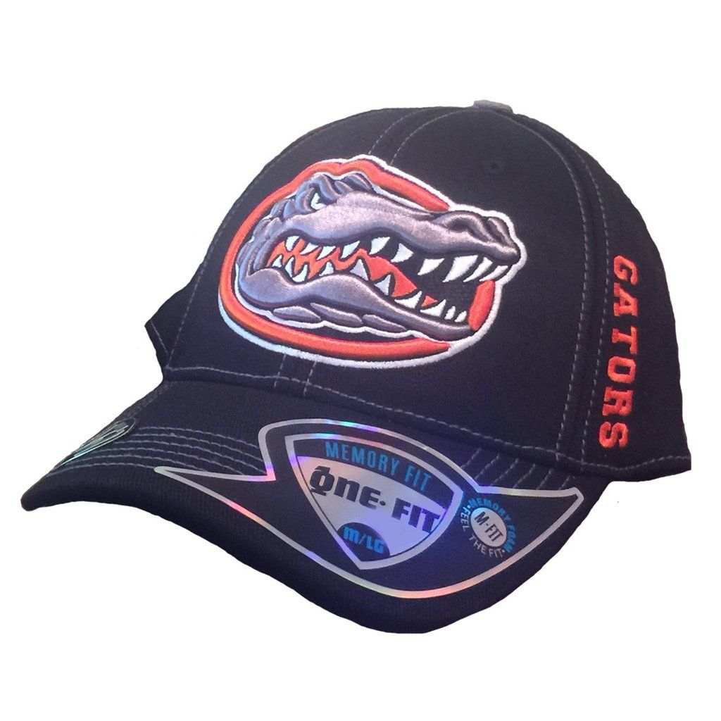 huge selection of ffb53 8e34a Florida Gators Top of the World Black Hat