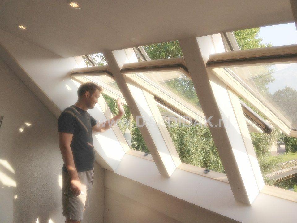 Roto era met top tuimel dakramen ruimte licht en ventilatie