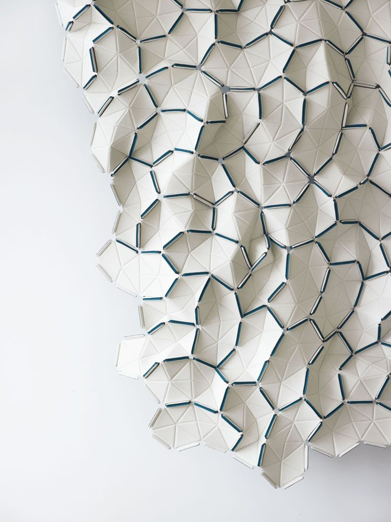 Clouds by ronan erwan bouroullec for kvadrat textures for Polygon produktdesign
