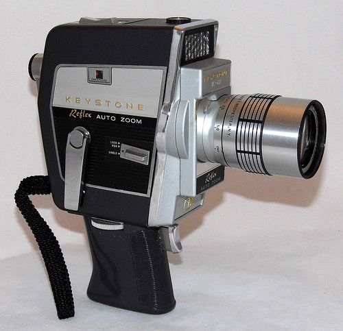 Vintage Keystone 8mm Reflex Auto Zoom Movie Camera, Model K-12, Made In USA, Circa 1963 | by France1978