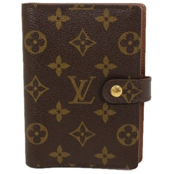 Pre Owned Louis Vuitton Agenda Pm Notebook Cover 2006 Made Louis Vuitton Agenda Louis Vuitton Louis Vuitton Monogram