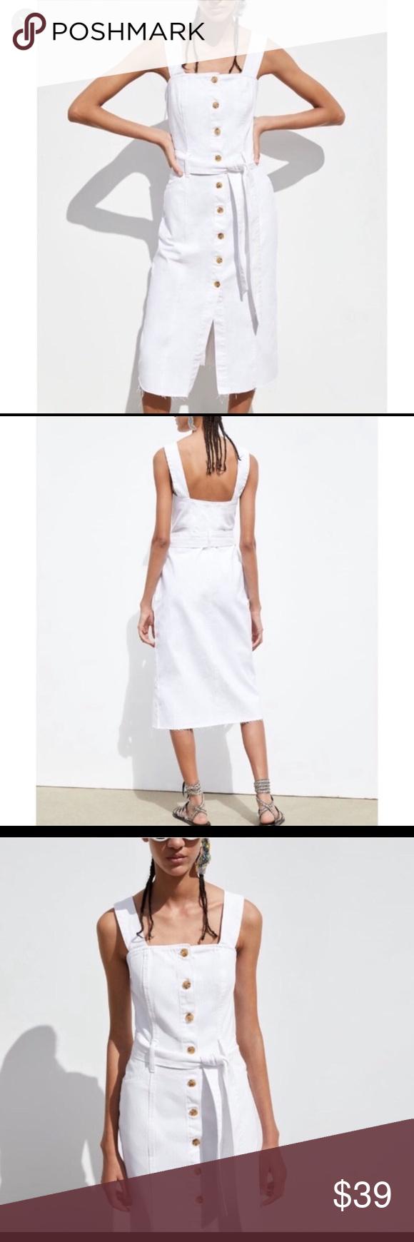 45+ White jean dress information