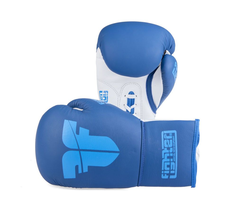 Fighter Competition Pro Boxing Gloves - blue   Boxing in